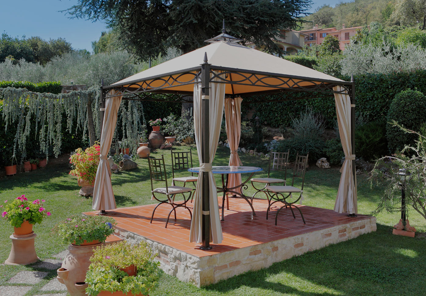 tende da sole e schermature solari gazebo